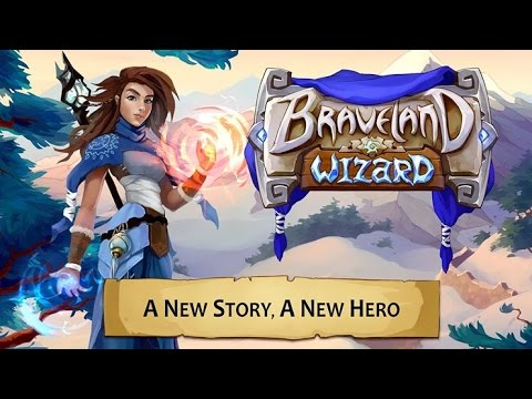 Braveland Wizard Android GamePlay Trailer (1080p)