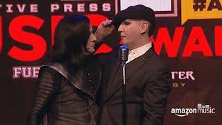 <b>Twiggy Ramirez</b> & Marilyn Manson  Alternative Press Music Awards