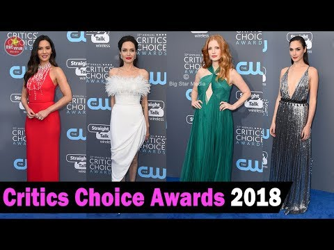 23rd Critics' Choice Awards 2018 : Red carpet, Winners and fashion show