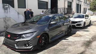 I can't believe I'm saying this but I'm really smitten by the new 2018 Honda Civic Type-R. I have yet to drive it but the over the top looks appeal to me as the functionality of it being a hatchback. It's not a tiny car at all and seems to have every design accent made so it really just needs a drop and wheels.For 35k makes a hell of a daily!