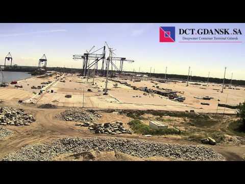 Порт Гданьск: Как строили второй глубоководный причал контейнерного терминала DCT - Центр транспортных стратегий