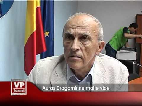 Auraș Dragomir nu mai e vice