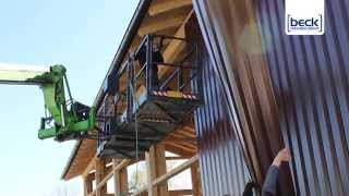 RoofLoc® SCRAIL® System - Metal Siding Project (US)
