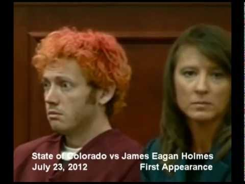 UPDATE: Colorado Shooter James Holmes 1st Court Appearances w/ VICTIM PHOTOS & LINKS (FULL VIDEO)