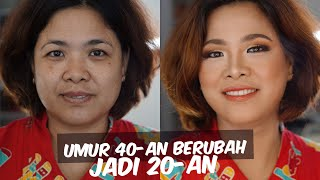 Video Tutorial Makeup Awet Muda Pakai Makeup Drugstore | Makeover Ibu-ibu 40 Tahun jadi 20 tahun MP3, 3GP, MP4, WEBM, AVI, FLV Desember 2018