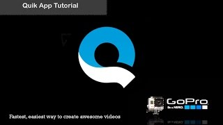Video Quik App by GoPro Video Tutorial  -  Fastest, easiest way to create awesome GoPro videos MP3, 3GP, MP4, WEBM, AVI, FLV Juli 2018
