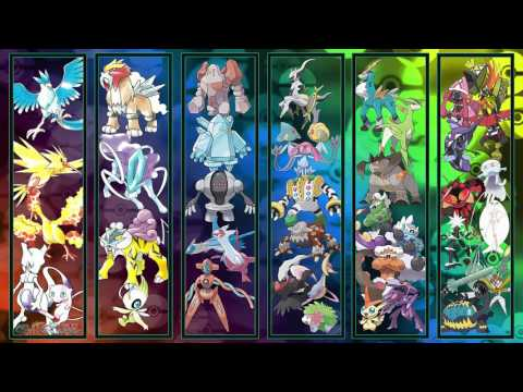 All Pokémon Trio/Mystic/Side Legendary Battle Themes [GEN 1-7]