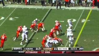 Dwayne Allen vs Auburn 2011