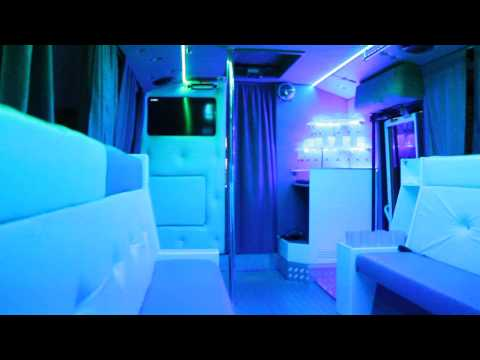 Видео салон автобуса