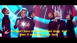 Take That - Love Love ( live at The National Movie Awards 2011 ) [ lyrics ]