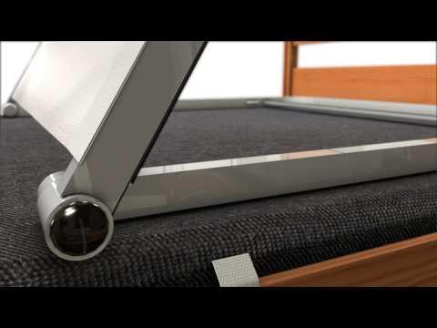Comfortabel sängryggstöd - montering