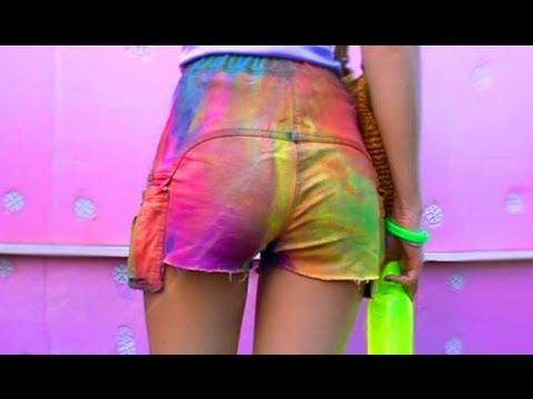 MW Мода 2013 Рваные Омбре Шорты DIY Fashion SWAG Cut-Off Bleached Shorts
