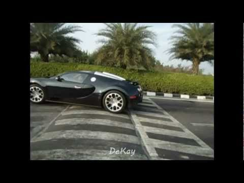 bugatti going over speed bumps...!
