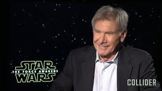 Video Harrison Ford on 'Star Wars: The Force Awakens', His Best Day on Set, and 'Blade Runner 2' MP3, 3GP, MP4, WEBM, AVI, FLV Agustus 2017