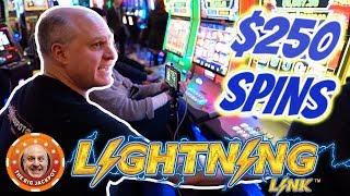 Video 100 SPINS AT $250! ⚡World's Greatest Slot Player ⚡Lightning Link! | The Big Jackpot MP3, 3GP, MP4, WEBM, AVI, FLV Juli 2019