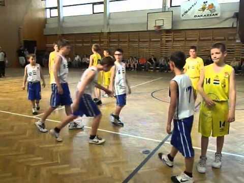 Kőbányai Darazsak – Megyeri Tigrisek gyerek kosárlabda mérkőzés 2013.04.20.