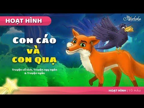 CON CÁO VÀ CON QUA câu chuyện cổ tích (The Fox and the Crow) - Truyện cổ tích việt nam - Hoạt hình - Thời lượng: 5 phút, 37 giây.