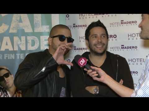 Cali Y El Dandee video Entrevista Argentina  - CM 2016
