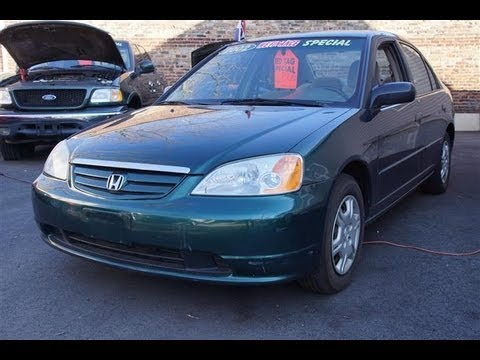 2002 honda civic ex sedan - Good Guy Auto Sales 1 Fern St Roselle, NJ 07203 908-445-8396 or 877-465-4304 http://GoodGuyAutoSalesNJ.com Right off St. George Avenue.