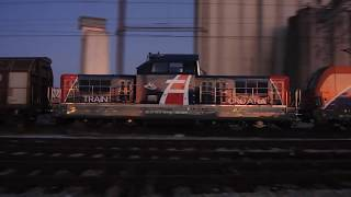Terra Nova locomotive first time in Croatia