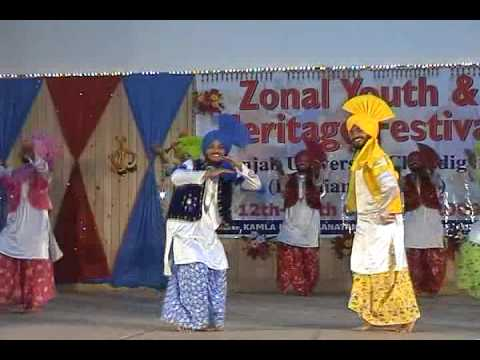 Jhumar Punjabi Folk Dance