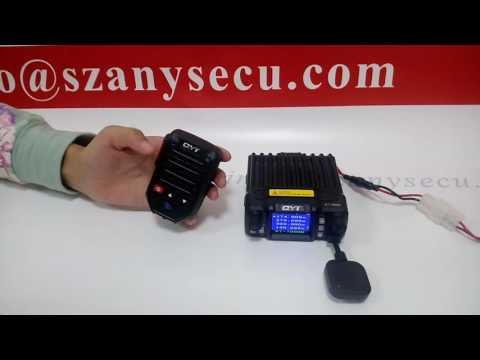 Anysecu Bt-89 Wireless Bluetooth Microphone For Mobile Two Way Radio