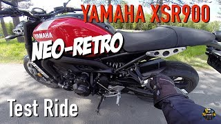 2. 2018 Yamaha XSR 900 Test Ride
