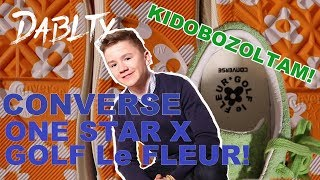VIRÁGOS CONVERSE-EK ?! - Tyler The Creator x Converse One Star