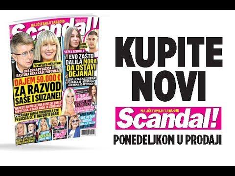 SCANDAL NOVINE: Zašto Dalila mora da ostavi Dejana! Popović se razvodi zbog crne pevačice! Marinka stigle kletve Nade Topčagić!