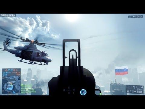 Из России с любовью ! Battlefield 4 beta (видео)