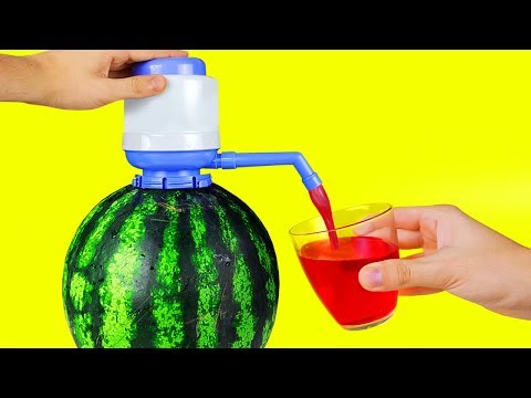Download Video 17 SIMPLE LIFE HACKS WITH WATERMELON