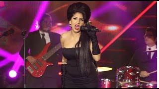 Así fue espectacular presentación de Amy Winehouse