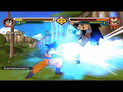dragon ball z budokai 2 gamecube technique