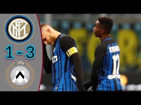Inter vs Udinese 1-3 - All Goals & Highlights  16/12/2017