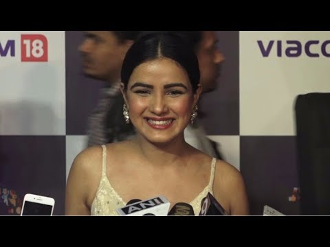Jasmin Bhasin At The Red Carpet Of 'Viacom 18' 10 Years Anniversary