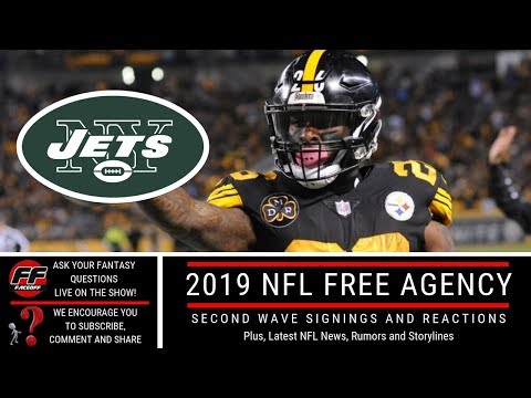 2019 NFL Free Agency Frenzy: Second Wave Signings, Reactions and Fantasy Football Outlook