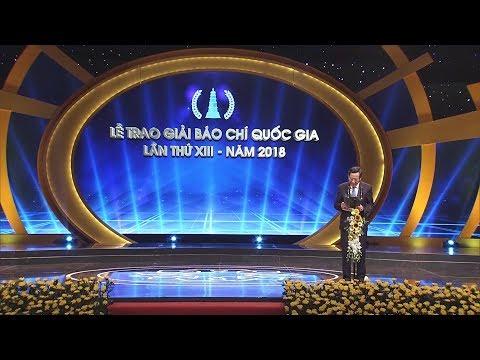 Thủ tướng Nguyễn Xuân Phúc dự Lễ trao Giải Báo chí quốc gia lần thứ XIII - năm 2018