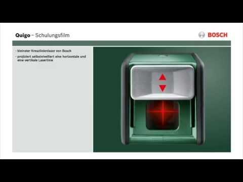 Bosch Kreuzlinienlaser Quigo - Produktvideo