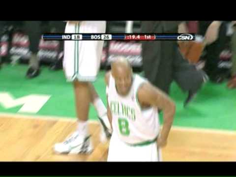 Stephon Marbury's First Game as a Celtic