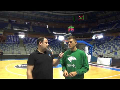 Video interview, Game 2: Nemanja Nedovic, Unicaja Malaga