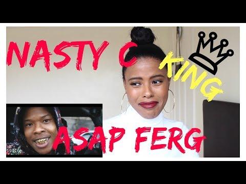 Nasty C - King ft. A$AP Ferg | (***REACTION***)