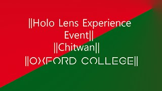 A short video of Holo Lens experience organized by MIC NEPALat Oxford College of Engineering and Management.Music Used:  Spring In My Step - Silent Partner