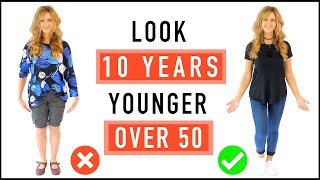 Video Look 10 Years Younger   CASUAL OUTFIT Ideas And Style Tips For Mature Women Over 50! MP3, 3GP, MP4, WEBM, AVI, FLV Juli 2019