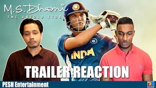 M.S. Dhoni - The Untold Story Trailer Reaction & Review | PESH Entertainment