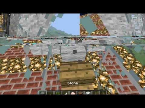 Minecraft modsuz uçak yapımı (supervideOyun)