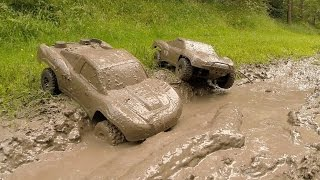 Video Traxxas Slash 4x4s KillerBodyRC Mud Bogging! MP3, 3GP, MP4, WEBM, AVI, FLV Mei 2017