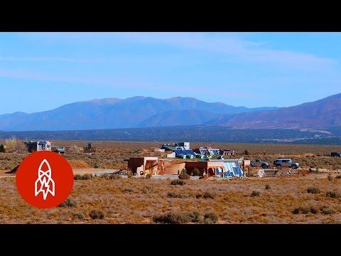 Eco-Friendly Earthships in the Desert