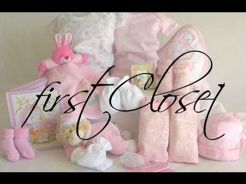 Первый гардероб 3-6 месяцев ч.2  |  first Closet 3-6 months | PolinaBond (видео)