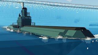 Video Massive Submarine Goes Inside Tsunami - Stormworks MP3, 3GP, MP4, WEBM, AVI, FLV Mei 2019