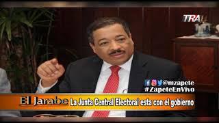 La Junta Central Electoral esta con el Gobierno en El Jarabe